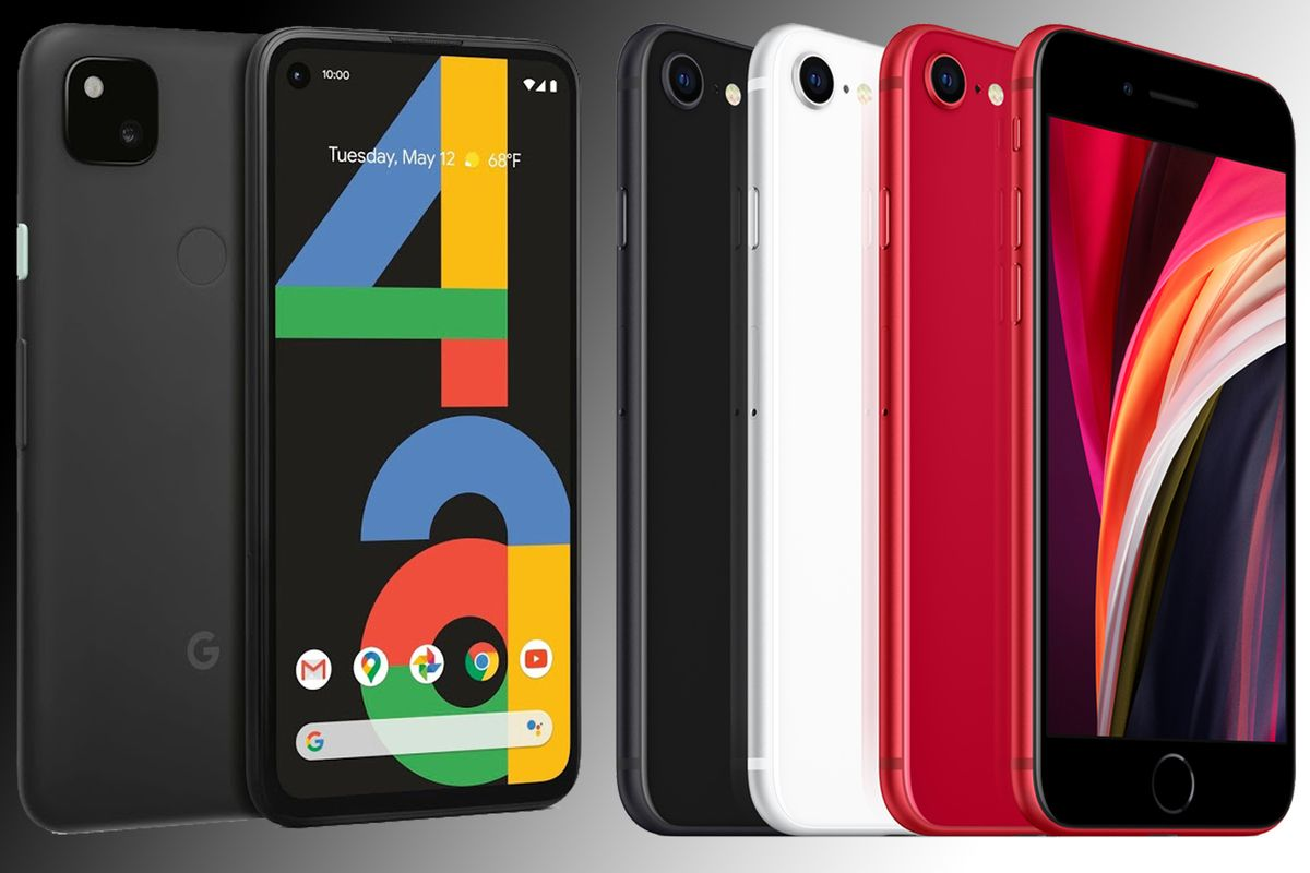 Google Pixel 4a vs iPhone SE - HWCol.com
