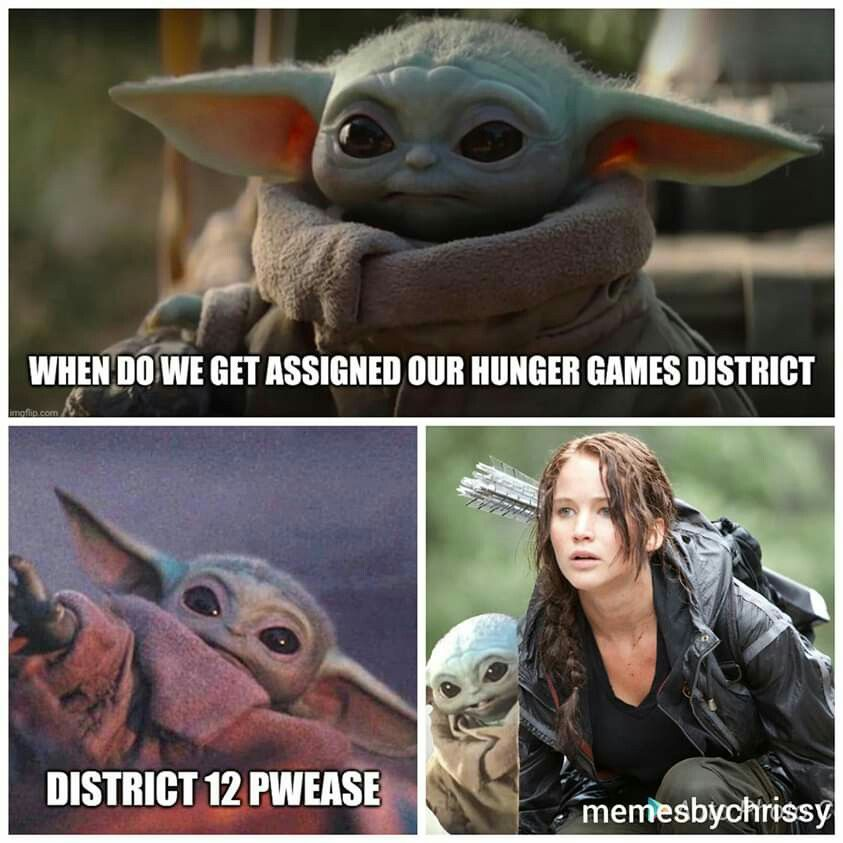 Pin By Allana Tyrrell On Funnies Star Wars Yoda Star Wars Memes Hunger Games