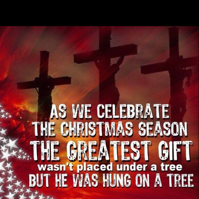 Christmas is not about the presents or 'Santa Claus' coming. It's about  Jesus and his birth! We all should be thank… | Christmas jesus, Greatful,  Christmas quotes