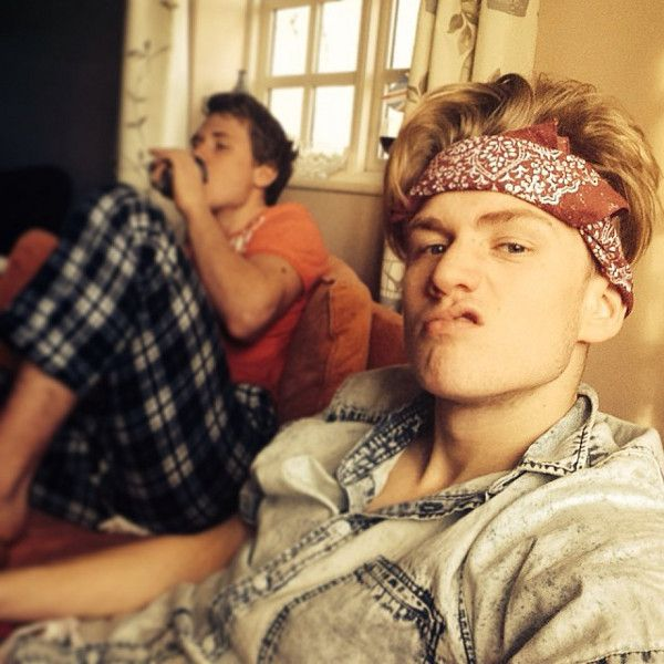 Tristan and brother
