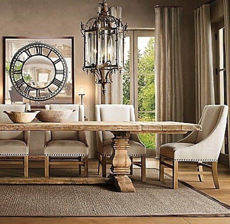 Las mesas de madera rustica son algunas de las pasiones favoritas ...