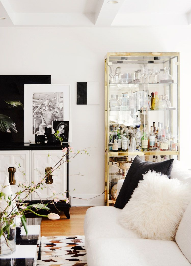11 Tried-and-True Decorating Secrets From Our Editors Zuhause - wohnzimmer deko gold