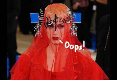ICYMI! Katy Perry Gets SLAMMED For Posting 'Insensitive' Photo Of Her Met Gala Outfit!