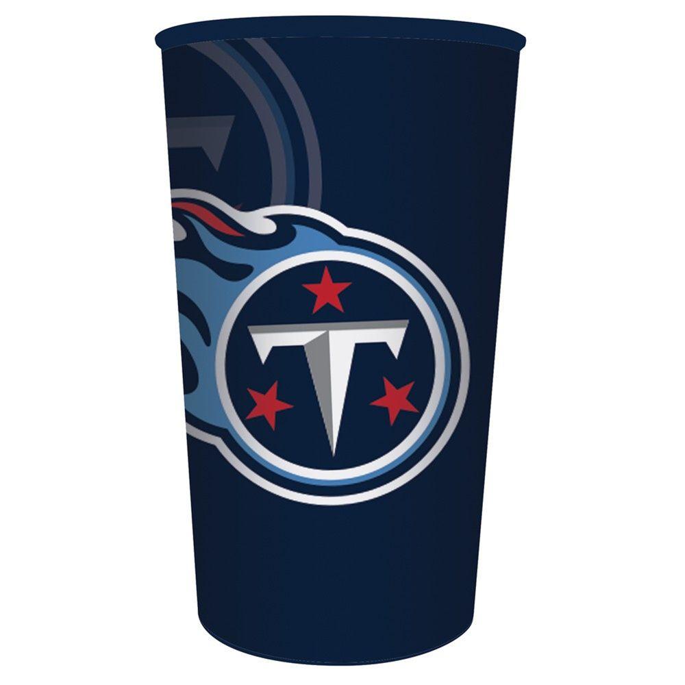 NFL 22 oz Plastic Souvenir Cup Tennessee Titans Case of 20  7852ac2d4