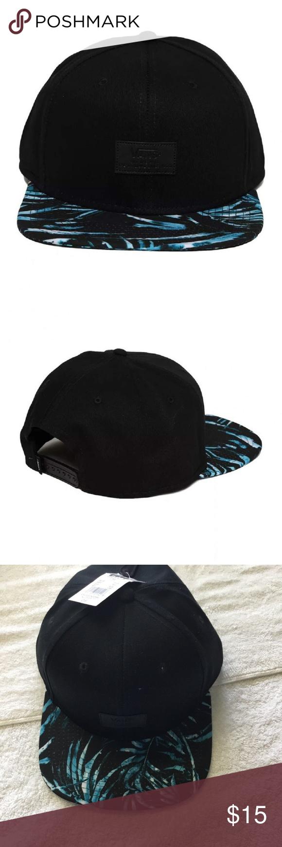 de62d36467413 Vans Men s All Over It Snapback Hat Black HAT Vans Men s All Over It Snapback  Hat Black One-Size VN0000X2O8V NWT