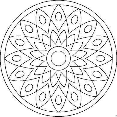 Mandalas    Patterns   Pinterest   Mandalas, Mosaicos y Colorear