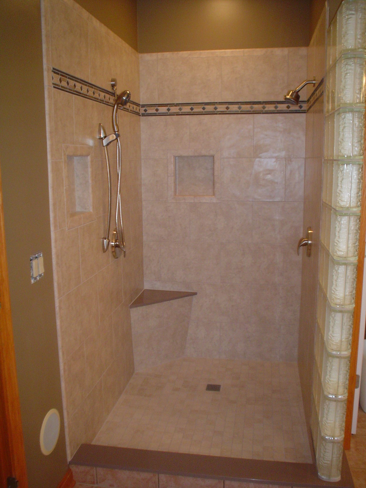 bathroom marble tile designs for walk in shower   Bathroom Bathroom ...
