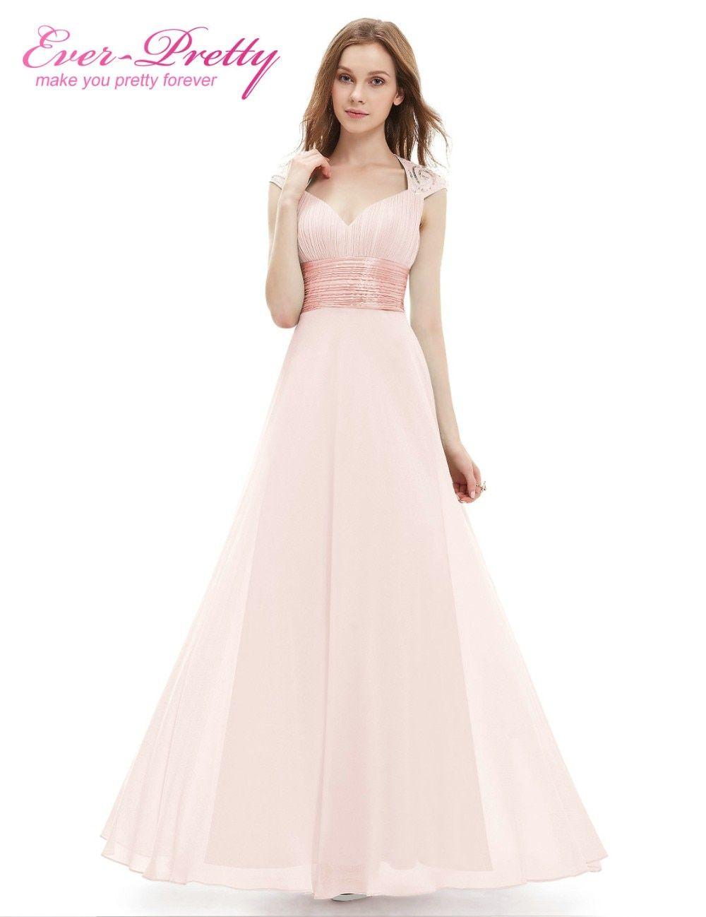 5c3285c0e1da Robe De Soiree Longue 2018 Elegant Evening Dresses Ever Pretty Floor Length  V-neck Long Formal Prom Party Gowns Vestido De Festa free shipping worldwide