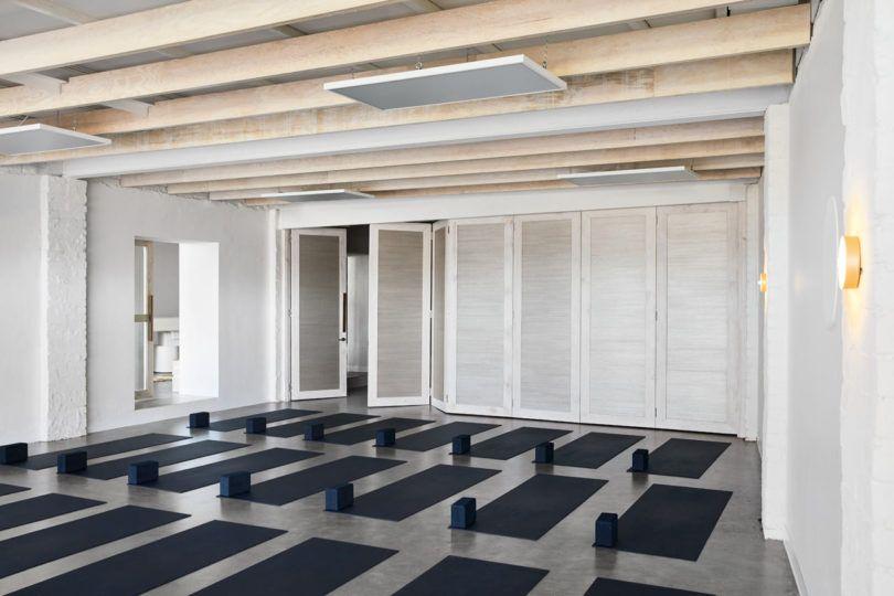 Golden Delivers An Organic Sensory Focused Yoga Studio For