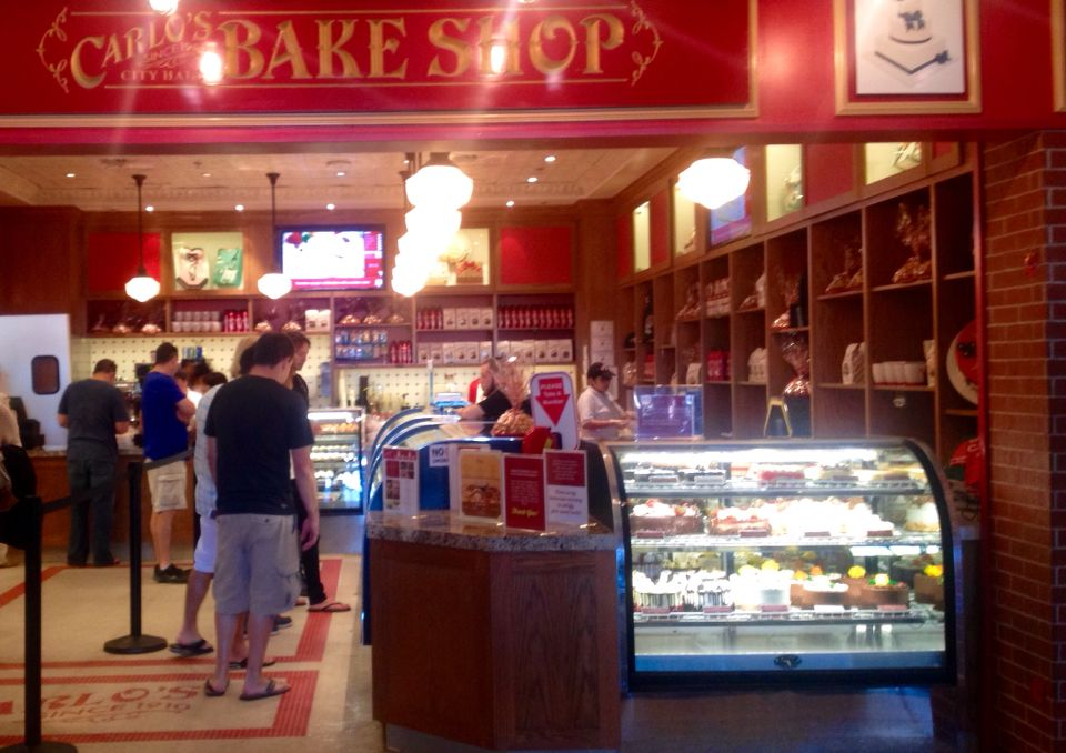 """Carlo's bake shop from """"The Cake Boss"""" in the in"""