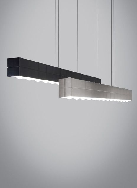 BIZA linear suspension Inside sit 40w atts of field-replaceable LED ...