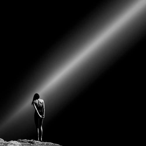 only a light