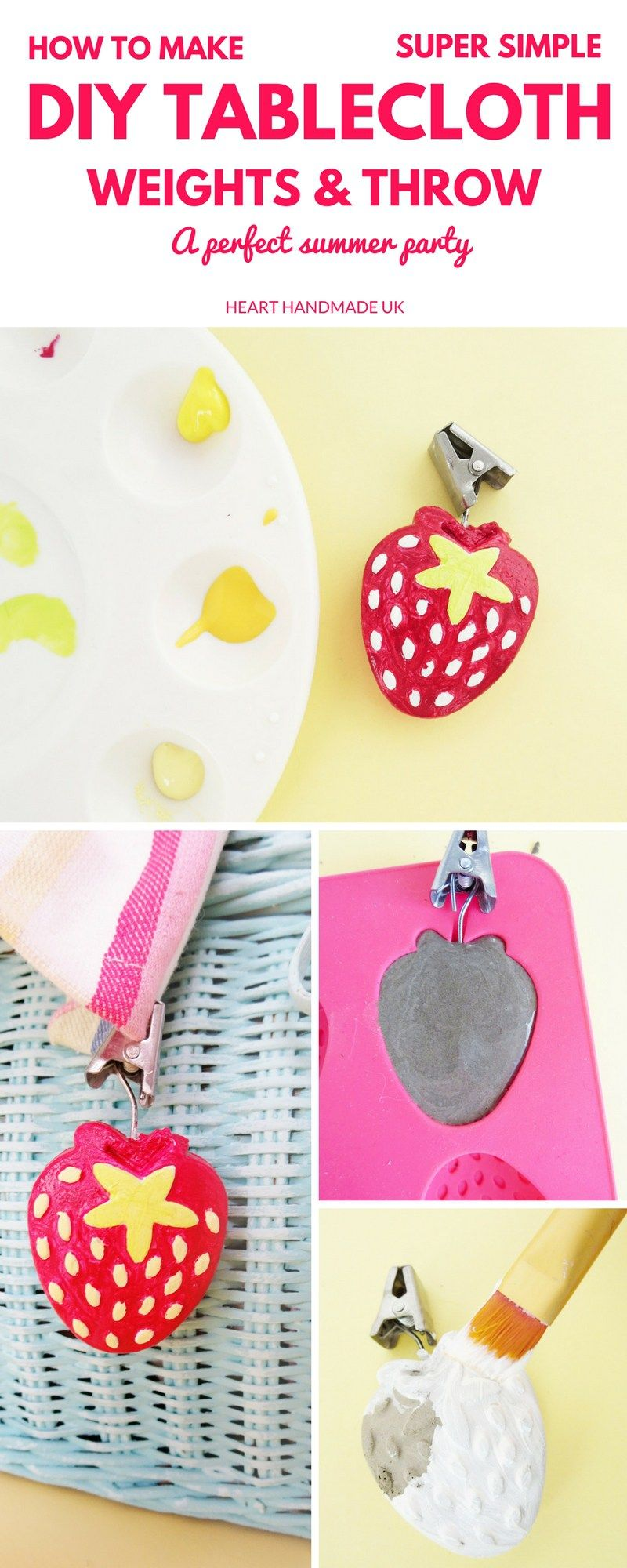 How To Make Super Simple Diy Tablecloth Weights Craft Ideas