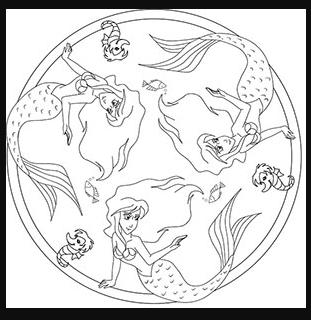50 Ausmalbilder Delphin Meerjungfrau Mandala Zum Ausdrucken Ausmalbilder Die Kleine Meerjungfrau
