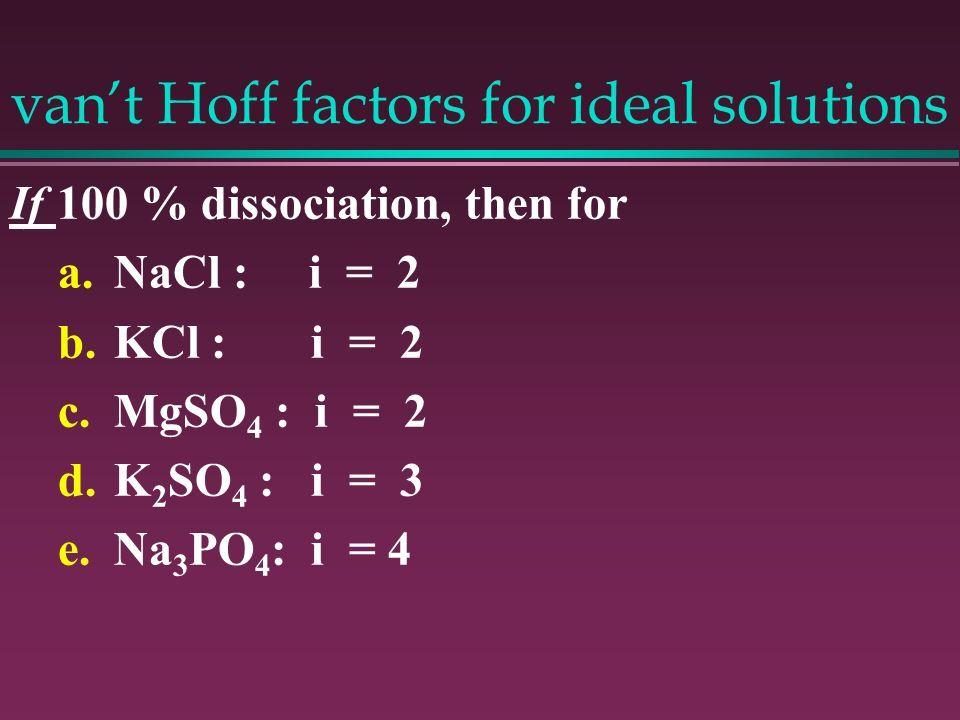 Image Result For Van U0026 39 T Hoff Factor