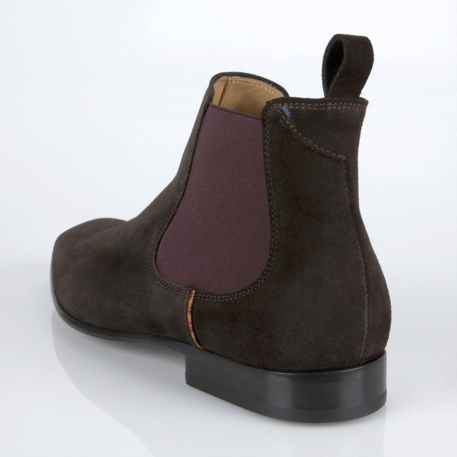 d6277ea3e4b Paul Smith Shoes - Brown Suede Falconer Boots