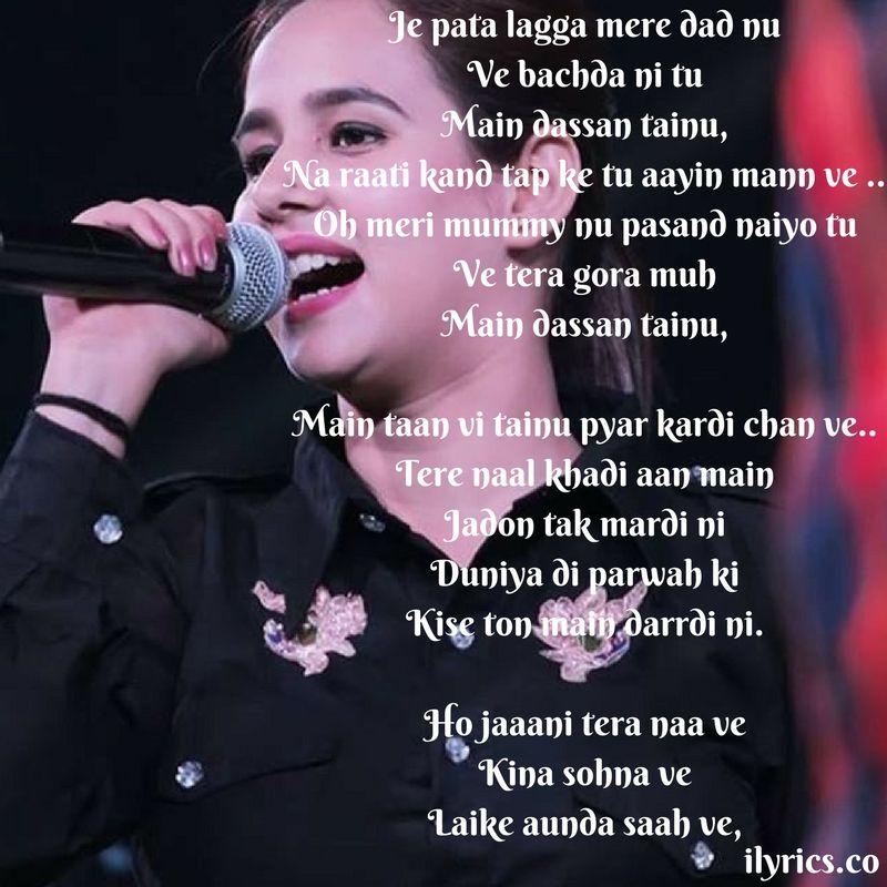 Jaani Tera Naa Lyrics Lirik