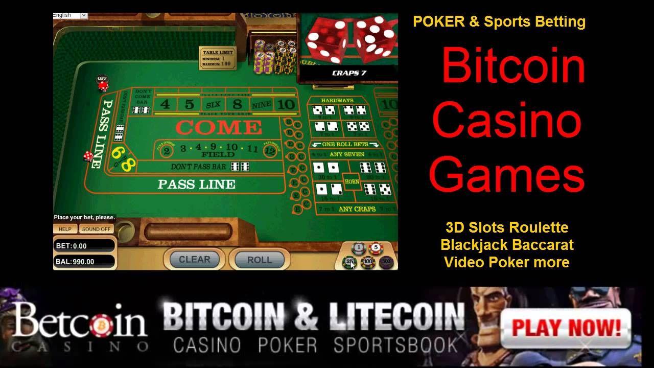 Craps Bitcoin Casino Games Why not ♥ USE EM OR LOSE EM