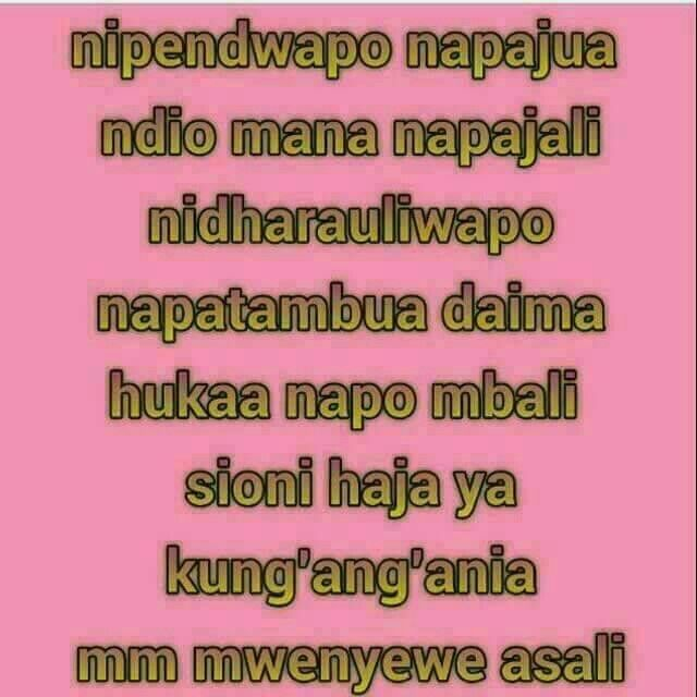 swahili love quotes love quotes everyday