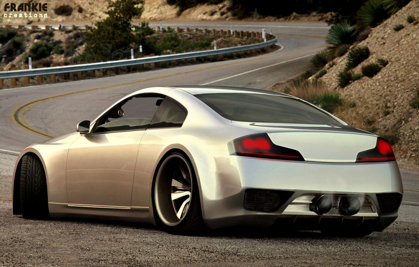 Infiniti G35 Coupe Custom By Frivasbx