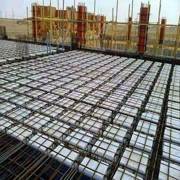 La construction du0027une dalle gaufrée Construction and House