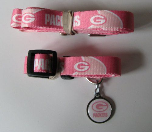 Hunter Green Bay Packers Pet Collar Pink XSmall -- For more information, visit image link. Note: It's an affiliate link to Amazon.