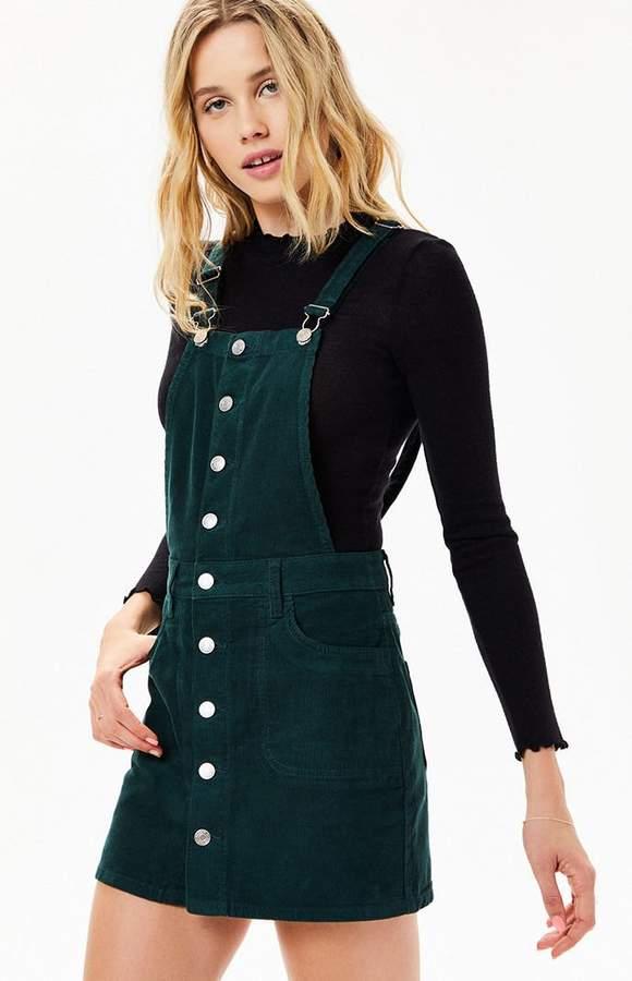 d6c3e5d3fa PacSun Button Front Corduroy Dress | Products | Dresses, Pacsun ...