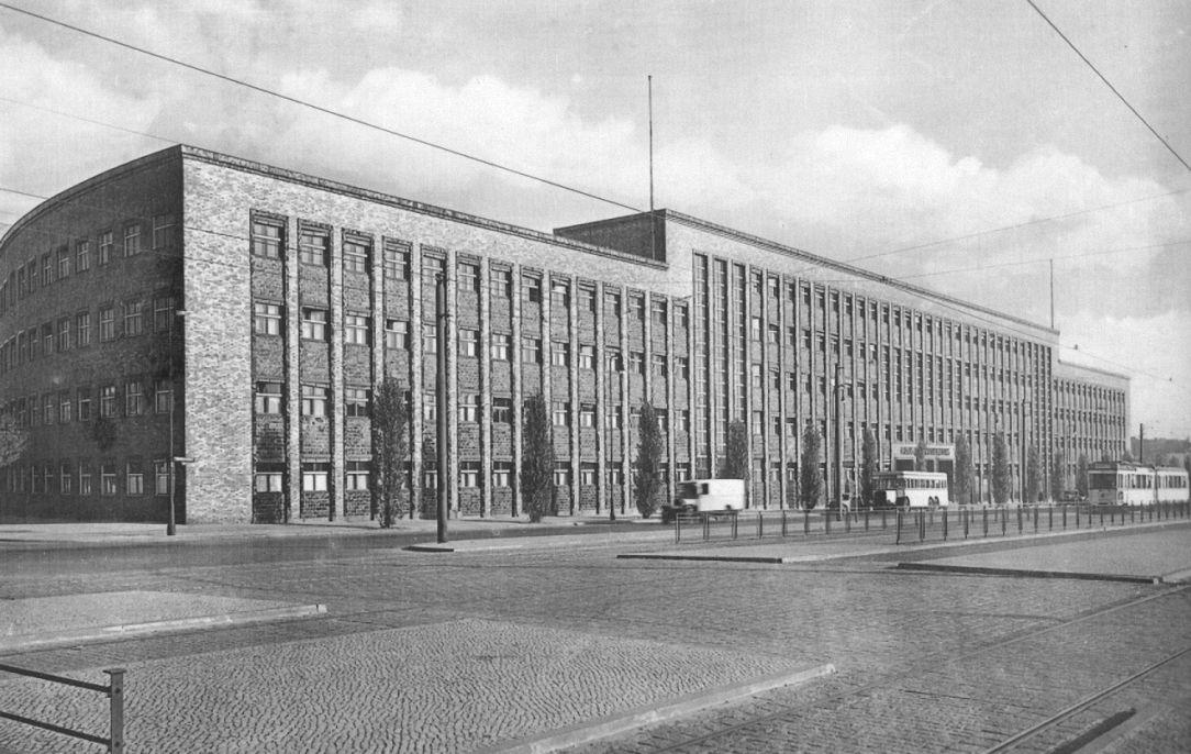 Berlin Haus Des Rundfunks 1933 Expressionismus Architektur Berlin Historisch