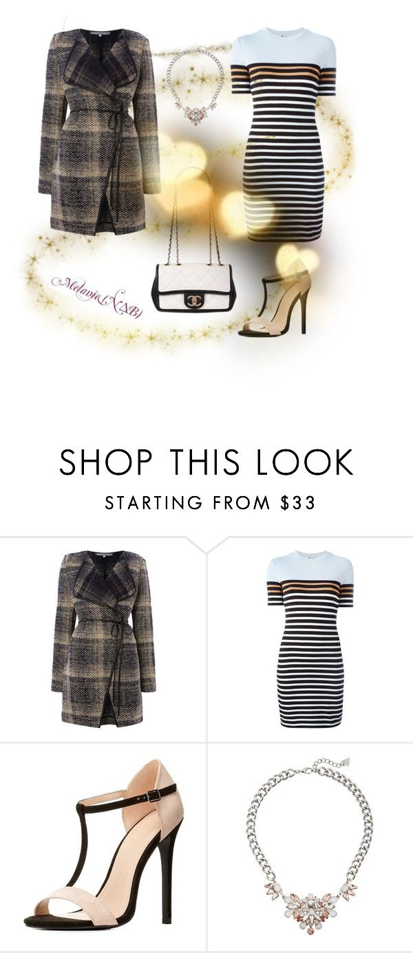 """""""Untitled #242"""" by queenmelani on Polyvore featuring La Fée Maraboutée, T By Alexander Wang, Charlotte Russe, Chanel, GUESS, women's clothing, women, female, woman and misses"""