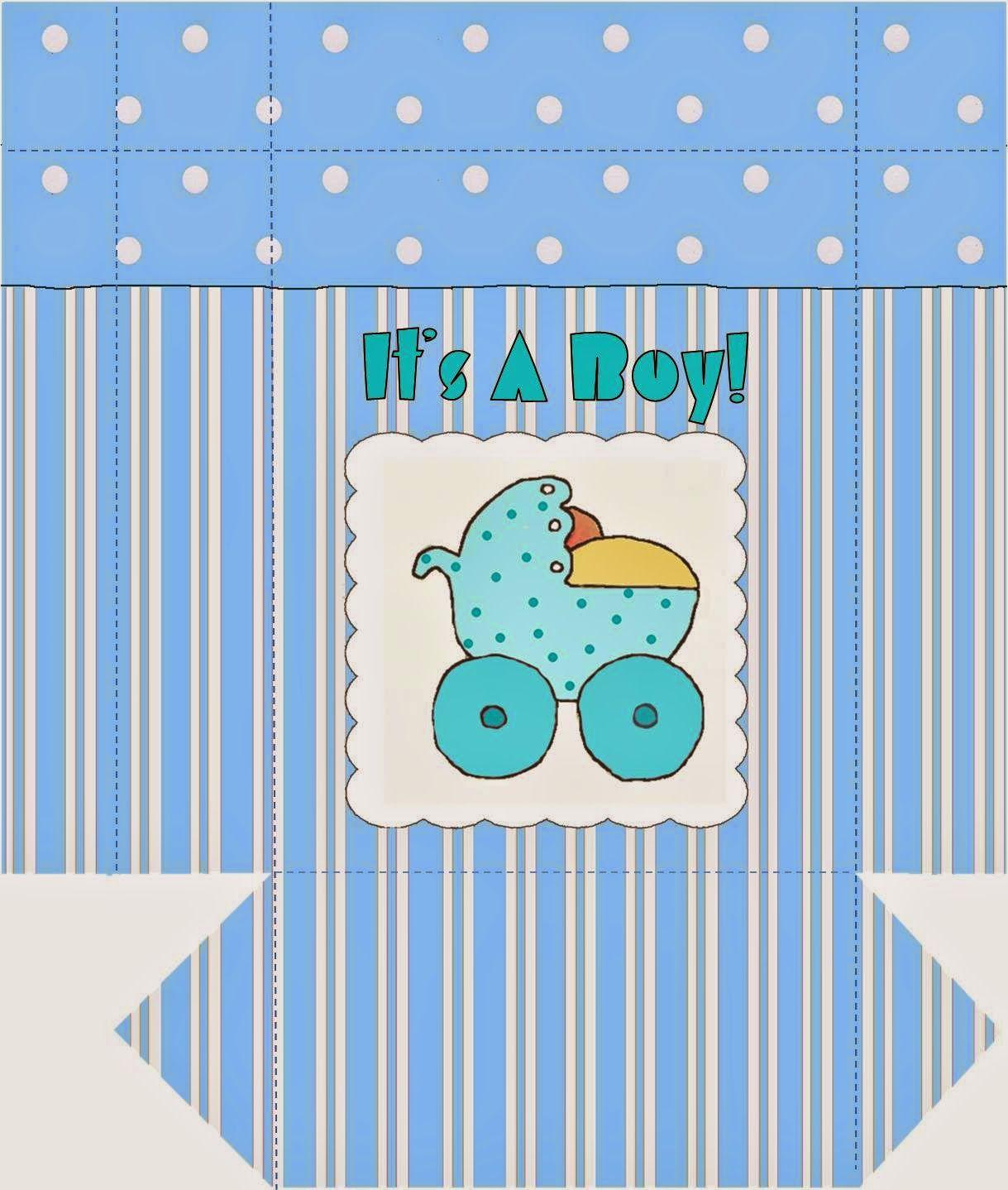 Cajas es un ni o para imprimir gratis baby shower - Novedades para baby shower ...
