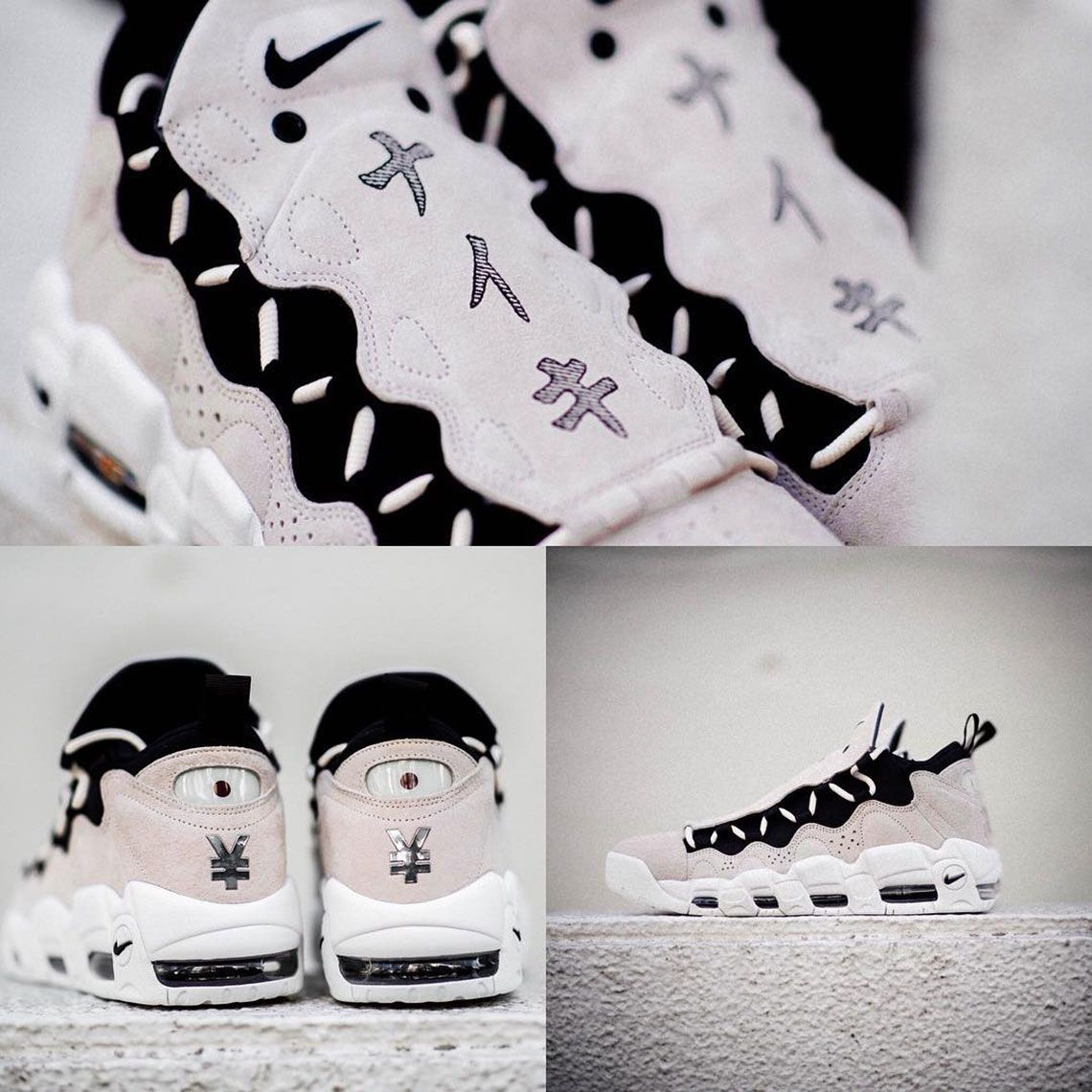 "new products d8ad6 bd0e3 Update The Nike Air More Money QS ""Japanese Yen"" is expected to release"
