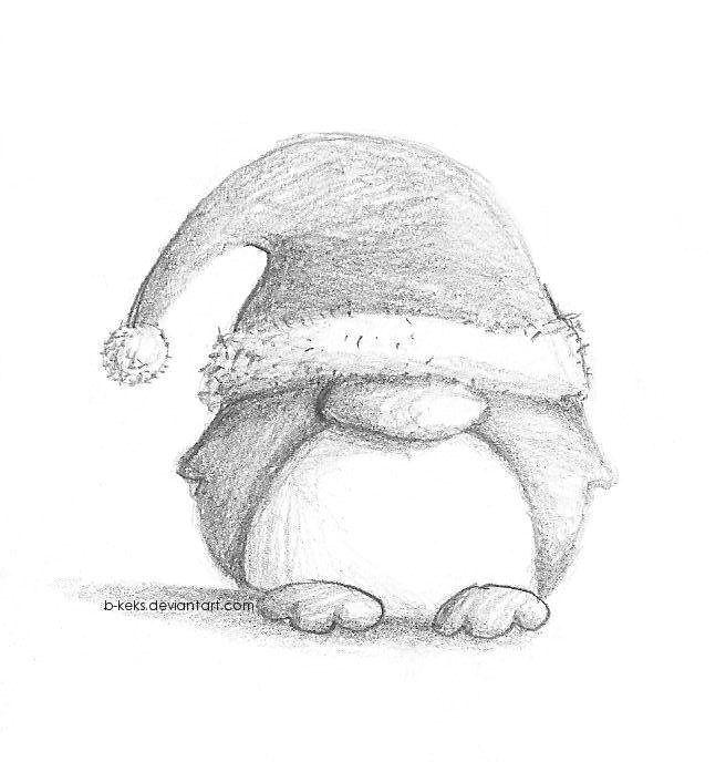 Penguin gnome | doodling | Pinterest
