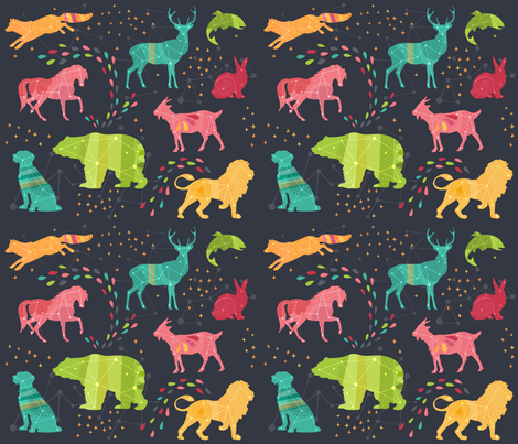 Fabric8 cosmic voyage constellations hidden in the for Constellation fleece fabric