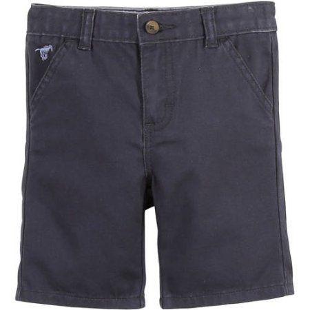 Wrangler Toddler Boy Premium Belted Flat Front Short, Size: 3 Years, Blue