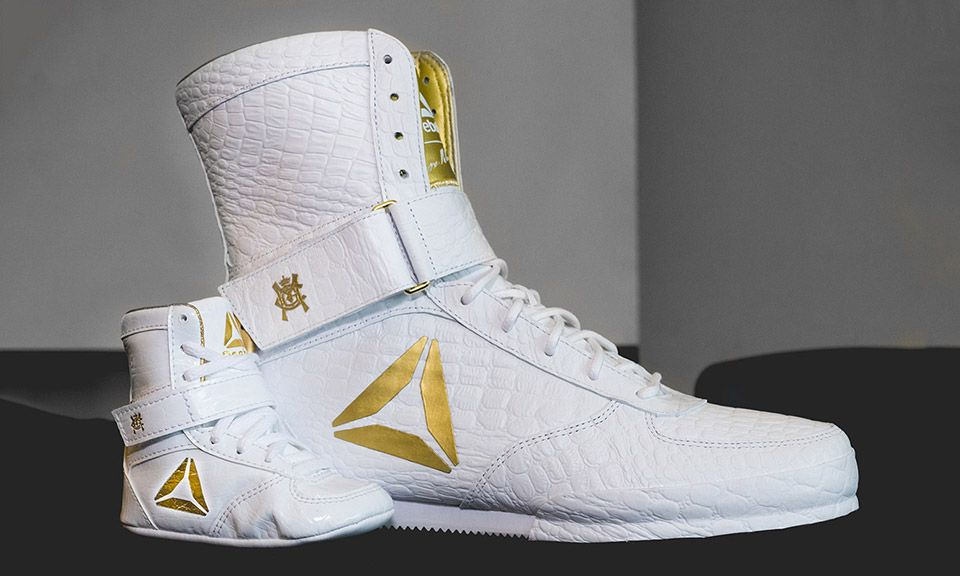 How Reebok Made Conor McGregor s Boxing Boots Truly 1-of-1  9a1aa2d16