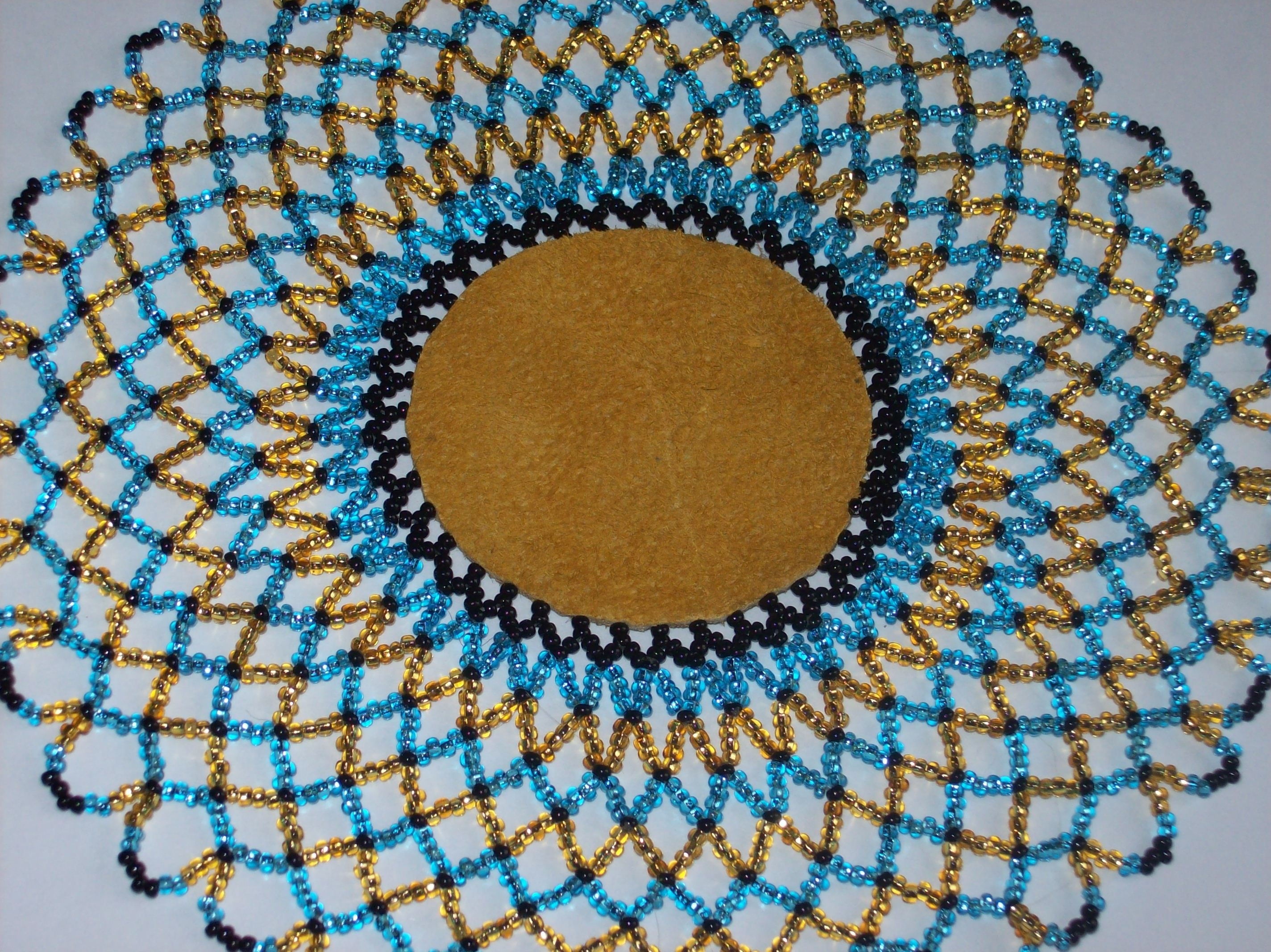 Free Seed Bead Patterns For Doilies  Google Search