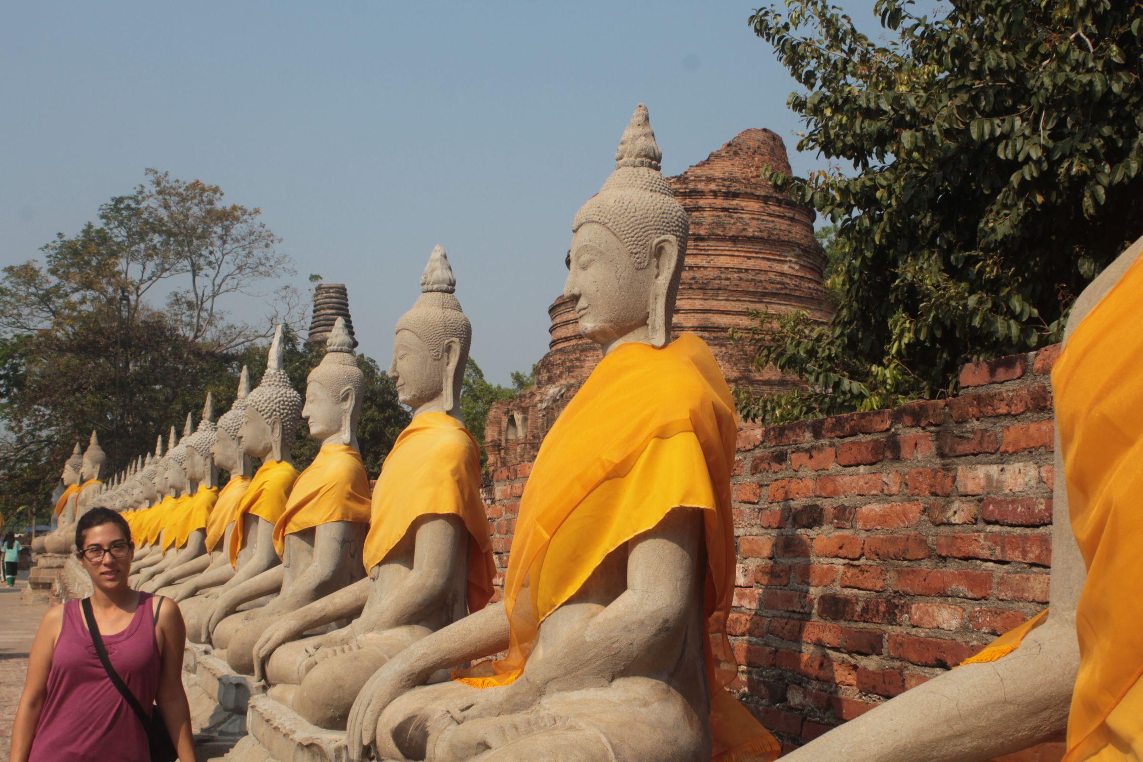 Tipica estampa de Wat Yai Chai Mongkhon