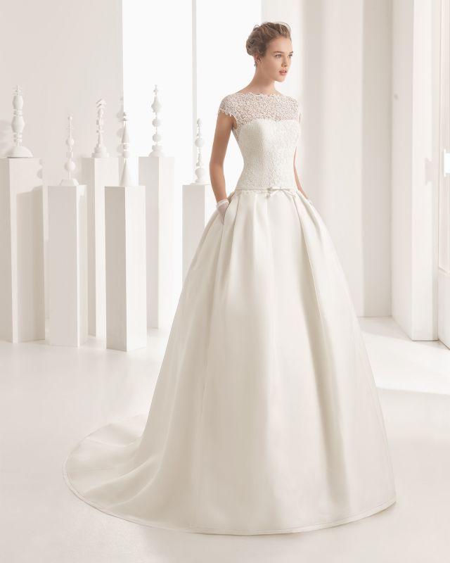 06eb4f0626 Lojas e ateliers de vestidos de noiva - Rosa Clará Lisboa. Fotos de vestidos