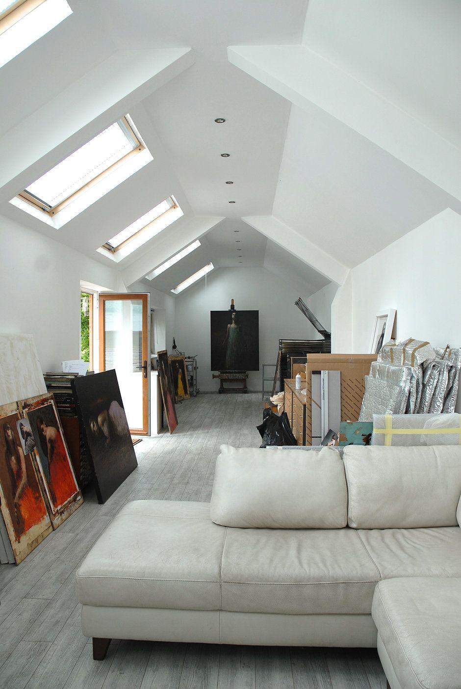 Mark Demsteader\'s Art Studio | Dream Art House | Pinterest | Art ...