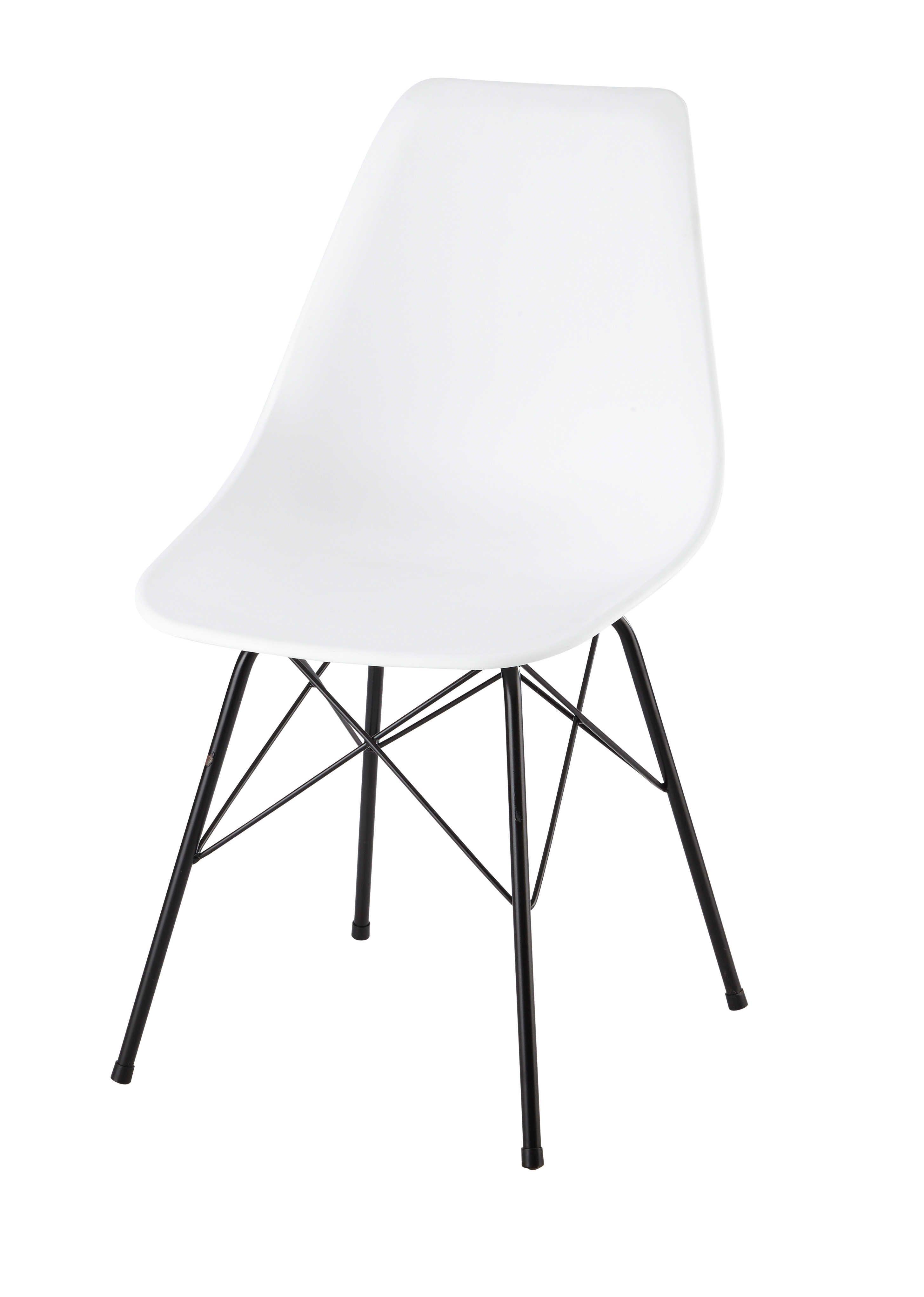 Stuhl bleistiftzeichnung  Sedia bianca in polipropilene e metallo Cardiff | sedie ...
