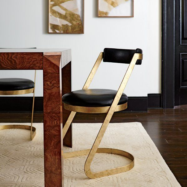 Good Clean Lines And Luxe Materials Make The Farrah Side Chair A Striking Update  To Any Dining. Side ChairsDining Room ChairsFurniture ... Pictures Gallery