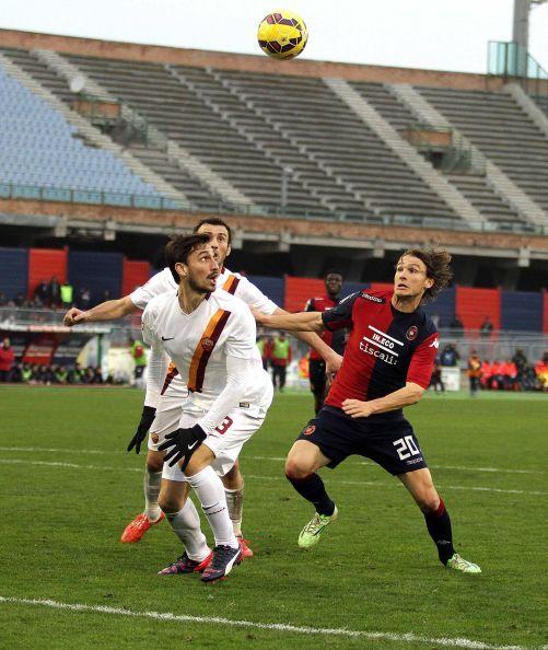 Cagliari-Roma 1-2: decidono i giovani Verde e Paredes