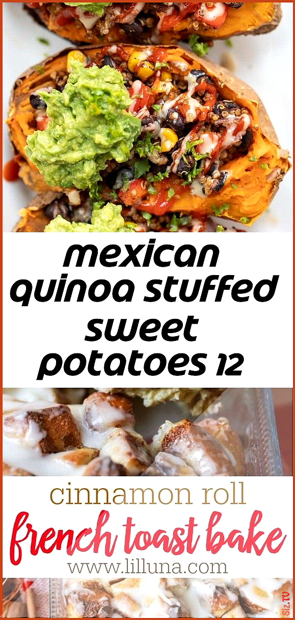 Mexican quinoa stuffed sweet potatoes 12 Mexican quinoa stuffed sweet potatoes 12 Michael Pruitt mi