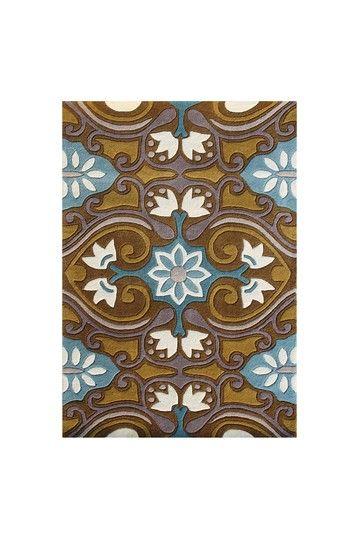 Alliyah Rugs Handmade Hand Tufted New Zealand Blend Wool Rug - Multi by Allyiah Rugs on @HauteLook