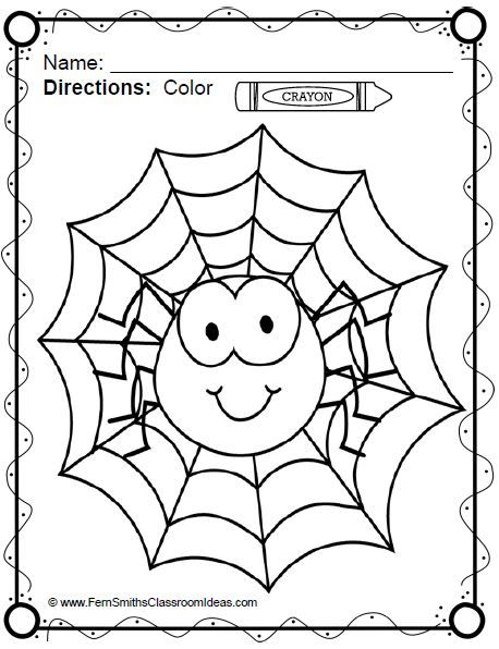 Coloring Page For Kids Spider Coloring Page Puppy Coloring Pages Animal Coloring Pages