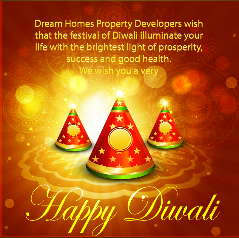 ‪#‎DreamHome‬ Family Wishes You All A Very Happy And Prosperous Diwali ! ‪#‎HappyDeepavali‬