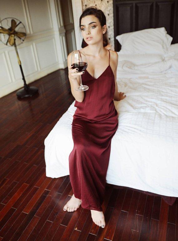 cc2918b87b7 Sexyback  backless slip dress  low back  silk dress  sleepwear  bridal  bridesmaid wedding maxi roman