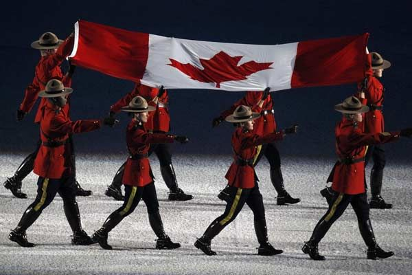 Flag Bearers Canada Canadian History Canadian Flag