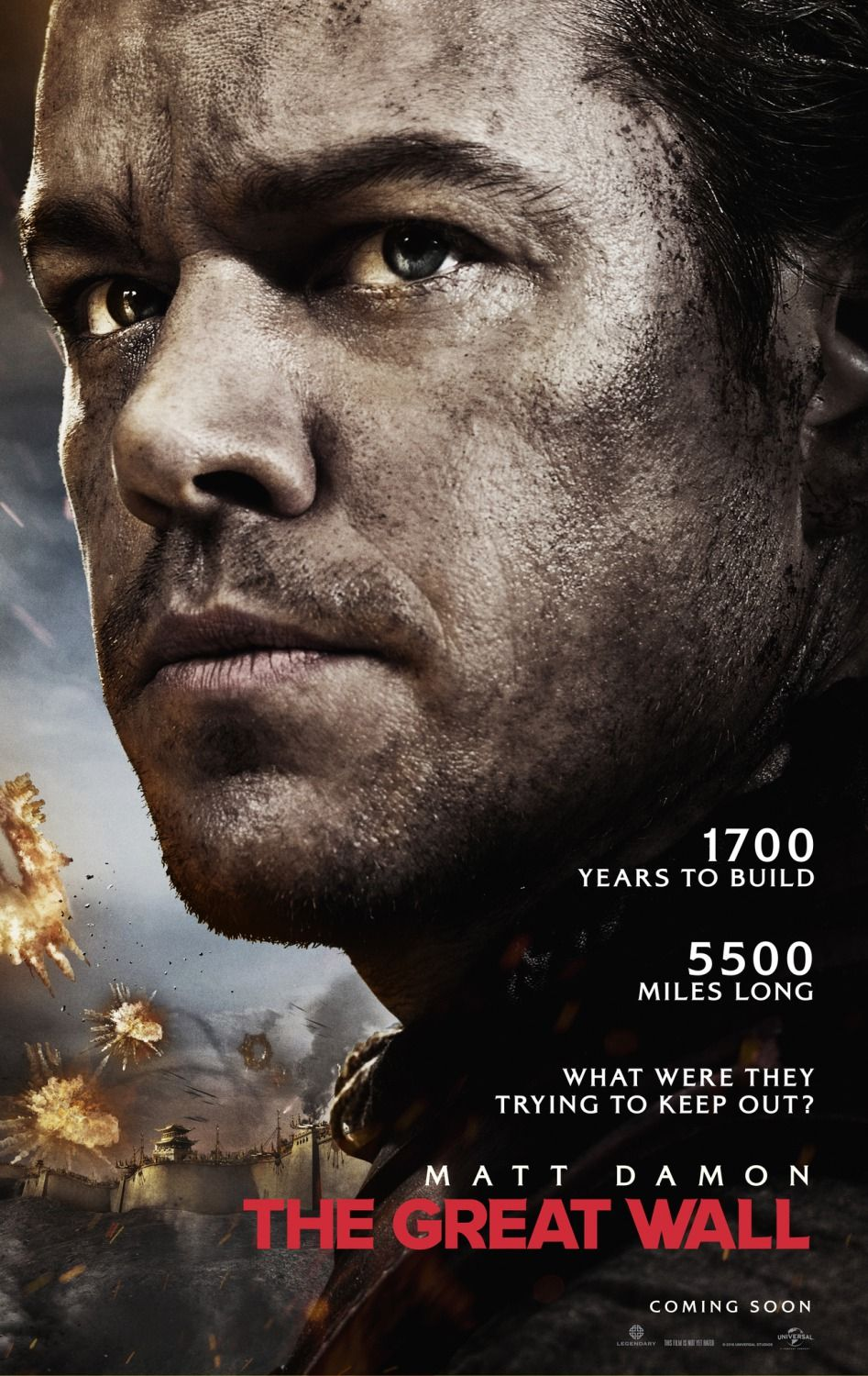 Return To The Main Poster Page For The Great Wall Filme A Grande