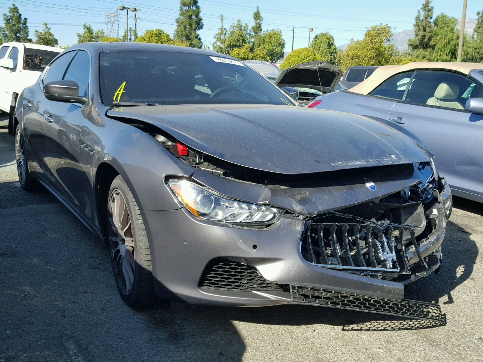 Salvage 2017 Maserati Ghibli   Wrecked Exotics   Pinterest